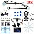 DC12V Auto Kits de Janela de Poder Universal 2-portas Elétrica com 3 pçs/set Interruptores e Harness # FD-4420