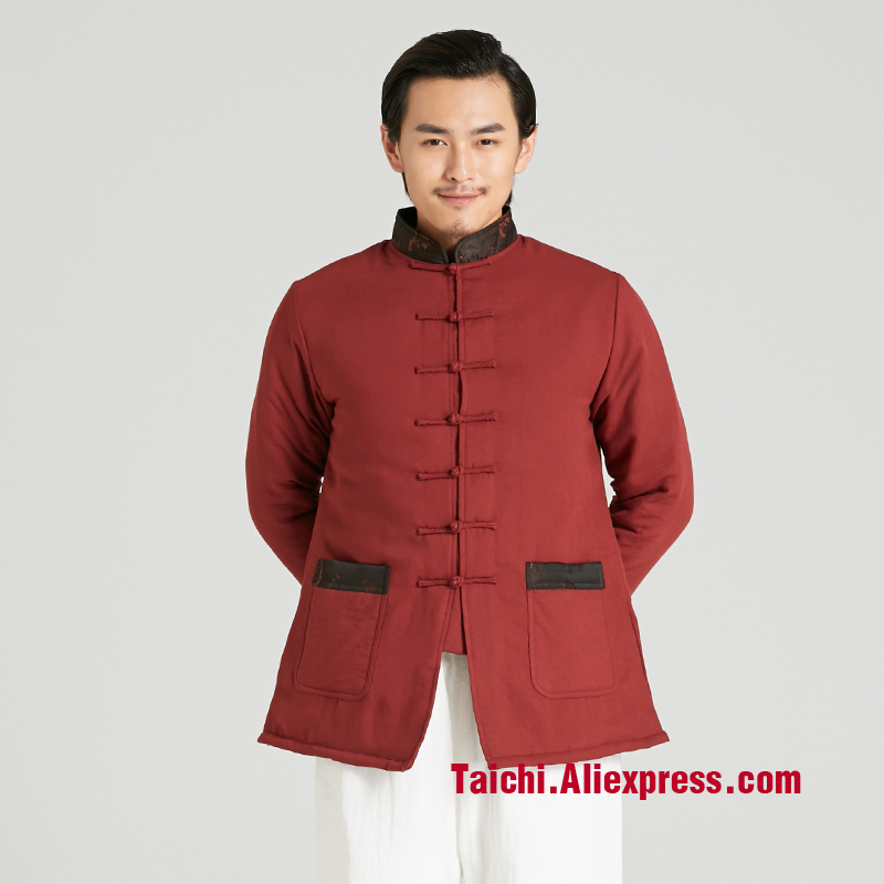 Winter Thickening  Martial Art Tai Chi Uniforms Taiji Clothes Jacket Men And Women Linen Chinese Style Clothing