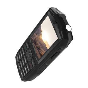 """Image 5 - Blackview الأصلي BV1000 2.4 """"IP68 مقاوم للماء في الهواء الطلق هاتف محمول وعر لوحة مفاتيح روسية المزدوج سيم مصباح يدوي صعبة الهاتف المحمول"""