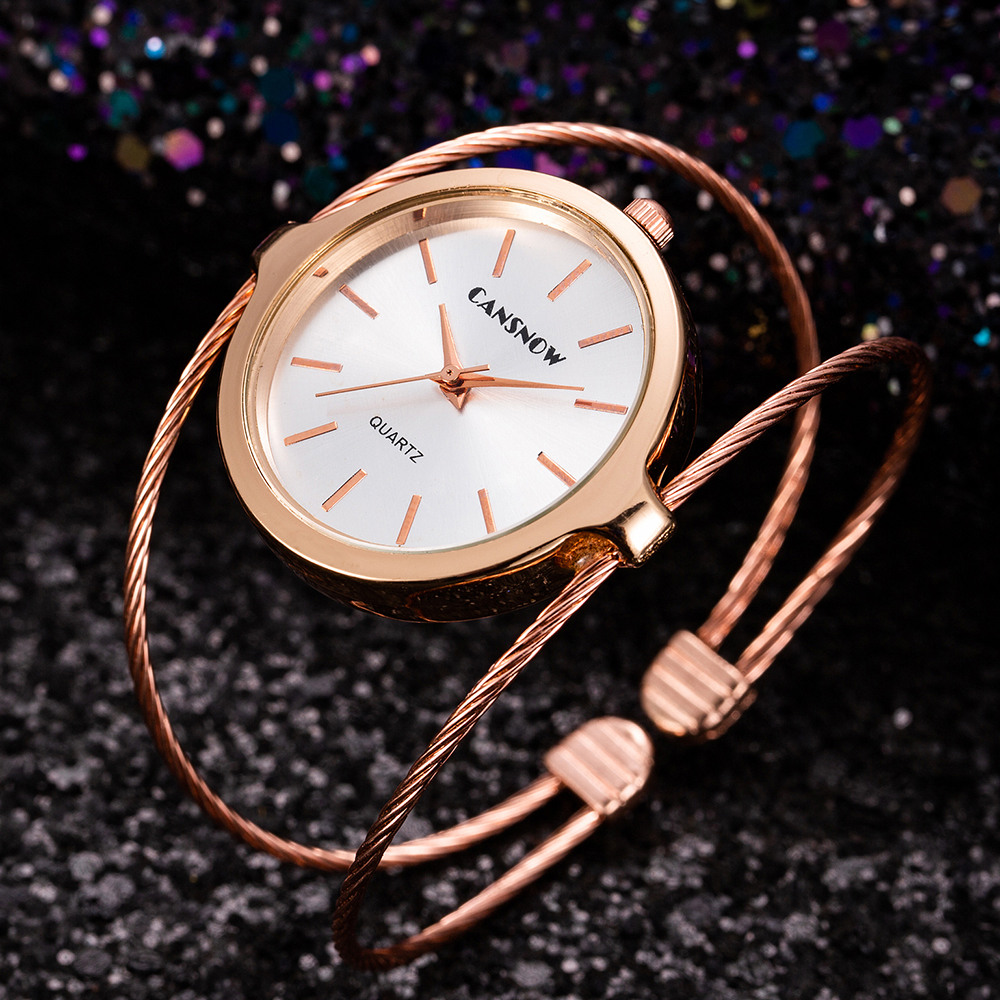 2019 New Stylish Women Fashion Luxury Watch Rose Gold Small And Exquisite Lady Stainless Steel Dress Clock Relogio Feminino