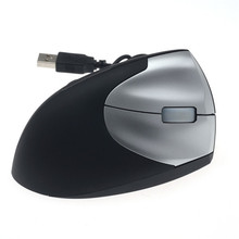 Comfort Wrist Gaming Mouse Wired Vertical Mouse Optical Ergonomic USB Mouse 1600DPI Right Hand Mice for PC Desktop Laptop