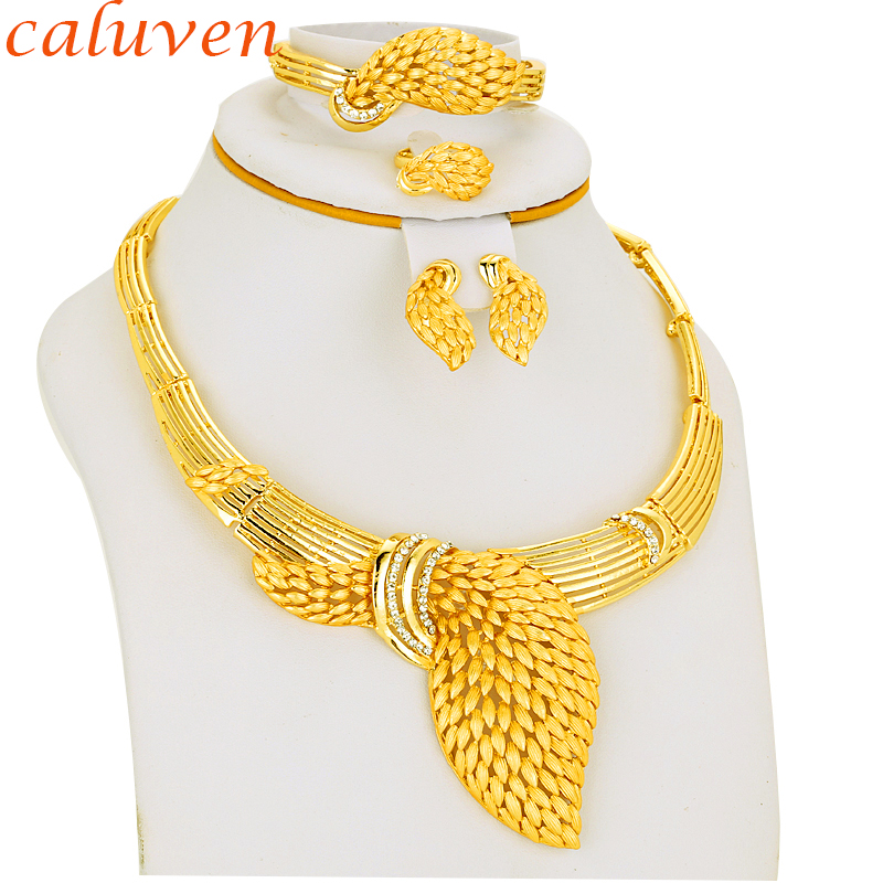 White Color Stone Ethiopian/Eritrea/Habesha Chokers Yellow Color Sets Jewelry For Earring/Necklace Women Gift Gold Color