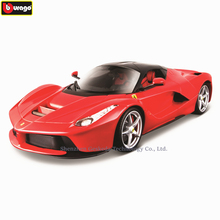 Bburago 1:18 Ferrari LAFERRARI car model 1 18 simulation alloy original Rafa sports car model super running car model gift шарлотта бронте