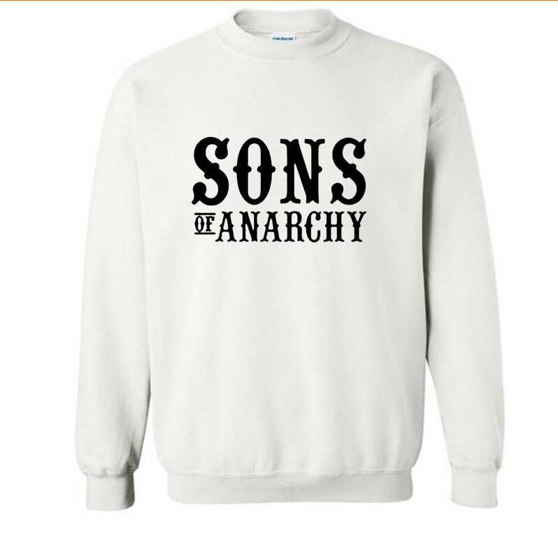 SOA Sons of anarchy il bambino di nuovo Modo SAMCRO Uomini Sportswear Felpe Maschio Casual Felpa pullover In Pile HipHop Felpa Con Cappuccio Caldo