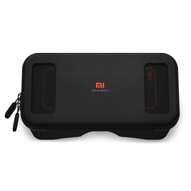 "Original Xiaomi Mi VR Play Black Google Cardboard Xiaomi VR Box Glasses Virtual Reality Goggles Gamepad for 4.7""-5.7"" Phone"
