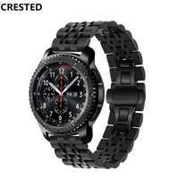 Galaxy zegarek 46mm pasek do Samsung biegów S3 Frontier/klasyczny pasek do zegarka 22mm huawei Watch gt pasek bransoletka pasek zegarka