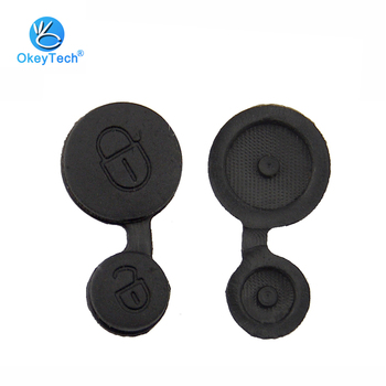 OkeyTech dla Citroen klucz obudowa na telefon brelok do klucza Pad wymiana 2 przyciski przycisk Pad dla Citroen Saxo Xsara Picasso Elysee tanie i dobre opinie for Citroen Rubber Pad China For Citroen Saxo Xsara Picasso Elysee Black 2 Button Replacement We Have Factory 1 Piece Foam Bag