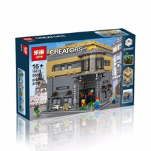2016 New LEPIN 15015 5003pcs City Creator The dinosaur museum Model Building Kits Minifigure Blocks Bricks Compatible Toys Gift