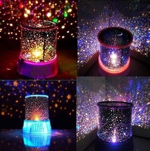 New Cosmos Star Lighting Lamp Romantic Star Master Sky Night Cosmos Projector Light Lamp Gift NEW Home Decoration Random Color