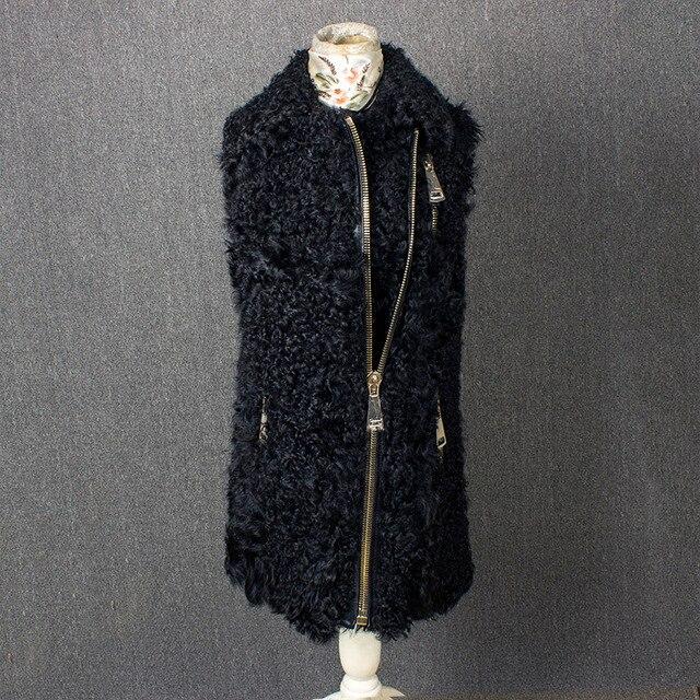 100%natural furreal lamb fur vest real sheep fur vest Good fur material 103d5238c3