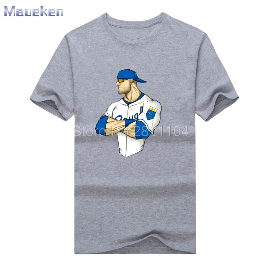 2017 New Alex Gordon COOL Men's summer T shirt 100% cotton ...