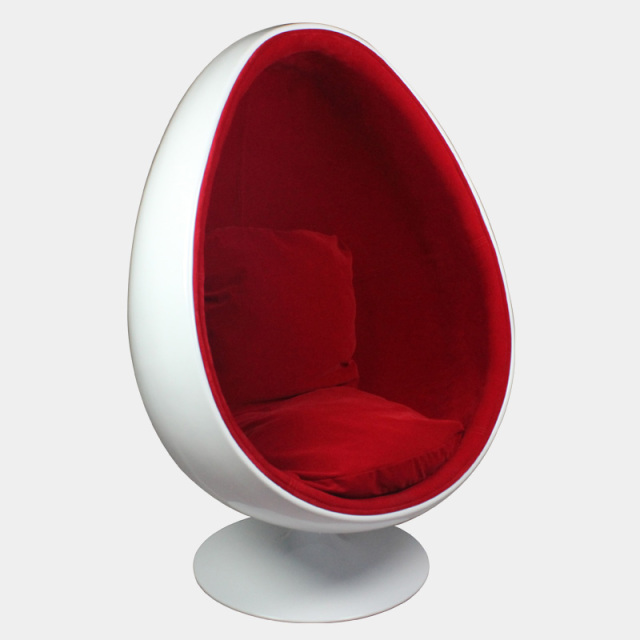 Genial Egg Chair Eggshell Egg Shaped Chair Lounge Chair Chair Fiberglass Chair  Bedroom Single Hemisphere Chair