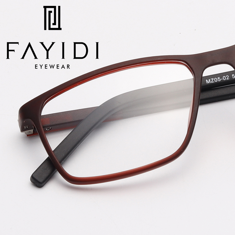 edc828e3100 Detail Feedback Questions about TR90 Eyeglasses Frame Men Simple Square Optical  Clear Myopia Prescription Spectacle Frame  MZ05 02 on Aliexpress.com ...