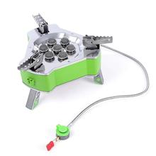 9800W Super-power Gas Stove Camping Hiking Picnic Foldable Burners Propane LPG Butane BRS-71 BRS-73 BRS-75