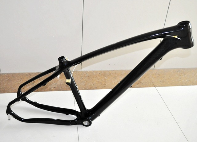 Super Light MF-005 Full Carbon Fiber Mountain Bike Frame 26 / 27.5 / 29ER Tapered Tube Disc Brake MTB Bicycle Cadre Carbone