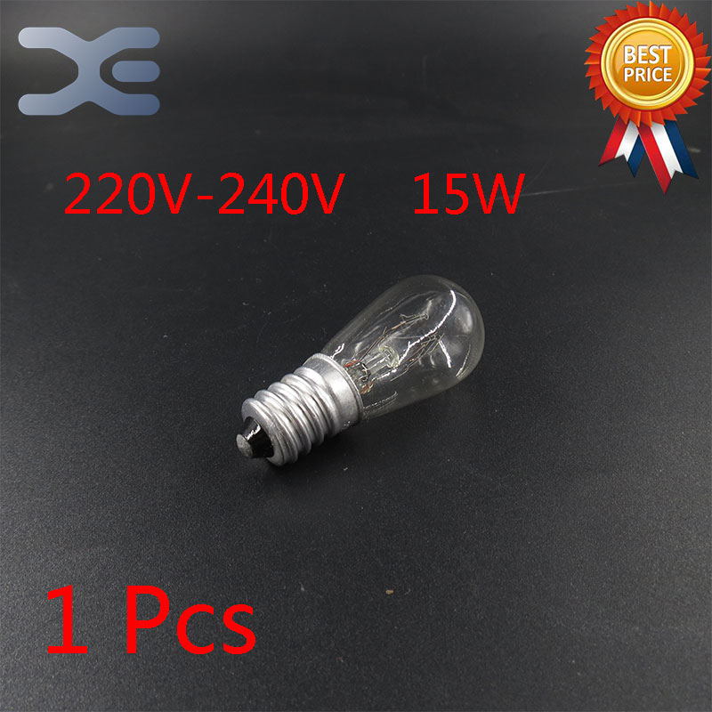 Free Shipping Microwave Oven Parts Light Bulb 220V-240V 15W High Quality Glass Microwave Oven Parts microwave oven parts used quality computer control board egxcca4 01 k egxcca4 06 k emxccbe 06 k