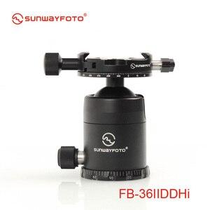 SUNWAYFOTO FB-36IIDDHi головка штатива для DSLR камеры Tripode шаровая Головка Профессиональный алюминиевый монопод панорамный штатив шаровая Головка