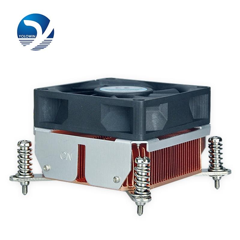 Componentes del ordenador hardware radiador 2U Solución activa Doble rodamiento de bolas Disipador de calor Radiador de cobre de alta calidad F5-10