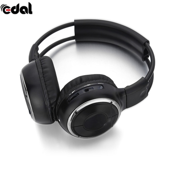 2018 IR Infrared Headphone Wireless Stereo Car Headphones Headset Dual Channel Earphones