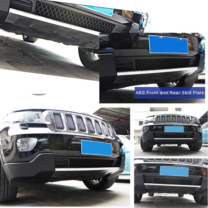 АБС-Пластик Передней и Задний бампер борту гвардии картера Nerf бар ДЛЯ Jeep Grand Cherokee 2011 2012 2013