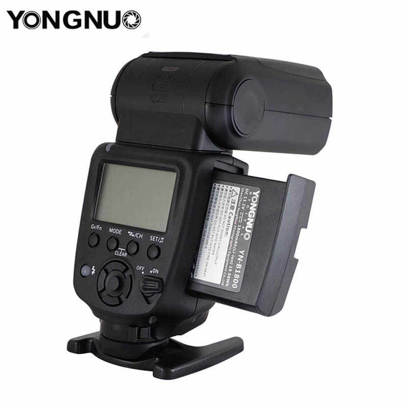 Yongnuo YN860Li Wireless פלאש Speedlite YN560III עם 1800 mAh סוללת ליתיום עבור Nikon Canon תואם YN560IV YN560-TX RF605