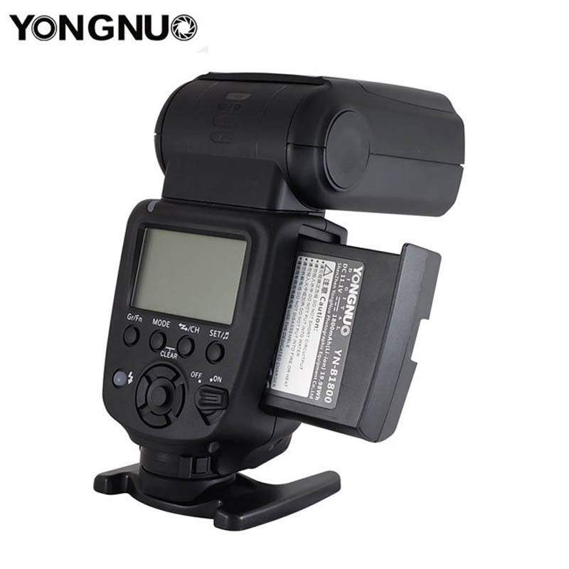 Yongnuo YN860Li Wireless Flash Speedlite with 1800mAh Lithium Battery for Nikon Canon Compatible YN560III YN560IV YN560-TX RF605 yn e3 rt ttl radio trigger speedlite transmitter as st e3 rt for canon 600ex rt new arrival