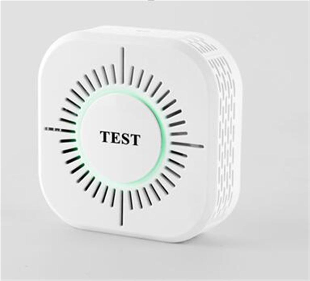 433Mhz 1527 Wireless Smoke Sensor For Burglar Alarm System C50w forecum 433mhz wireless magnetic door window sensor alarm detector for rolling door and roller shutter home burglar alarm system