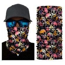 Biker Bandanas (5 pcs/lot) AC316-AC327 Outdoor Hat Cycling Turban Head Scarf Sports Face Mask