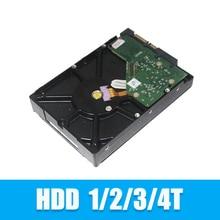 Профессиональный жесткий диск для системы видеонаблюдения, 3,5 дюйма, 1 ТБ, 3 ТБ, 4 ТБ, SATA интерфейс
