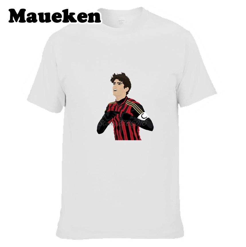 Men San Siro Prince #22 KAKA AC Milan T-shirt Tees Short Sleeve T SHIRT Mens Ricardo Izecson Santos Leite Brazil W1121006