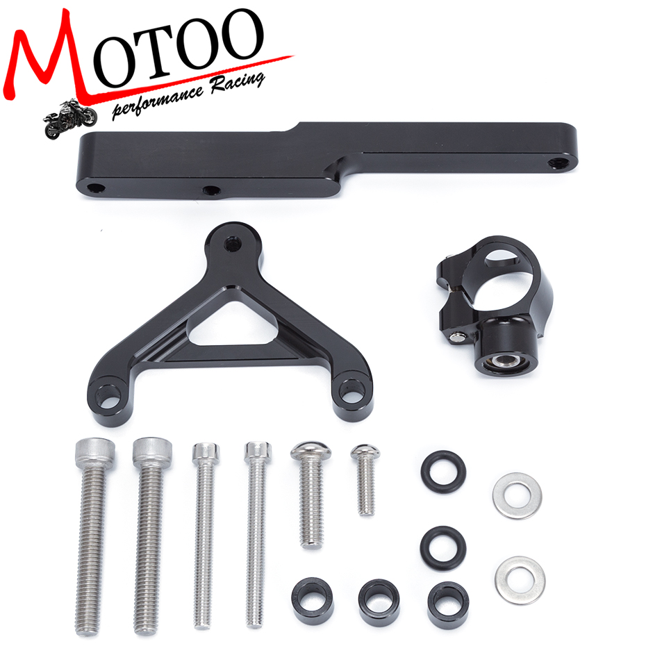 For HONDA CB1000R 2008 2016 Motorcycles Adjustable Steering Stabilize Damper Bracket Mount Support Kit Accessories