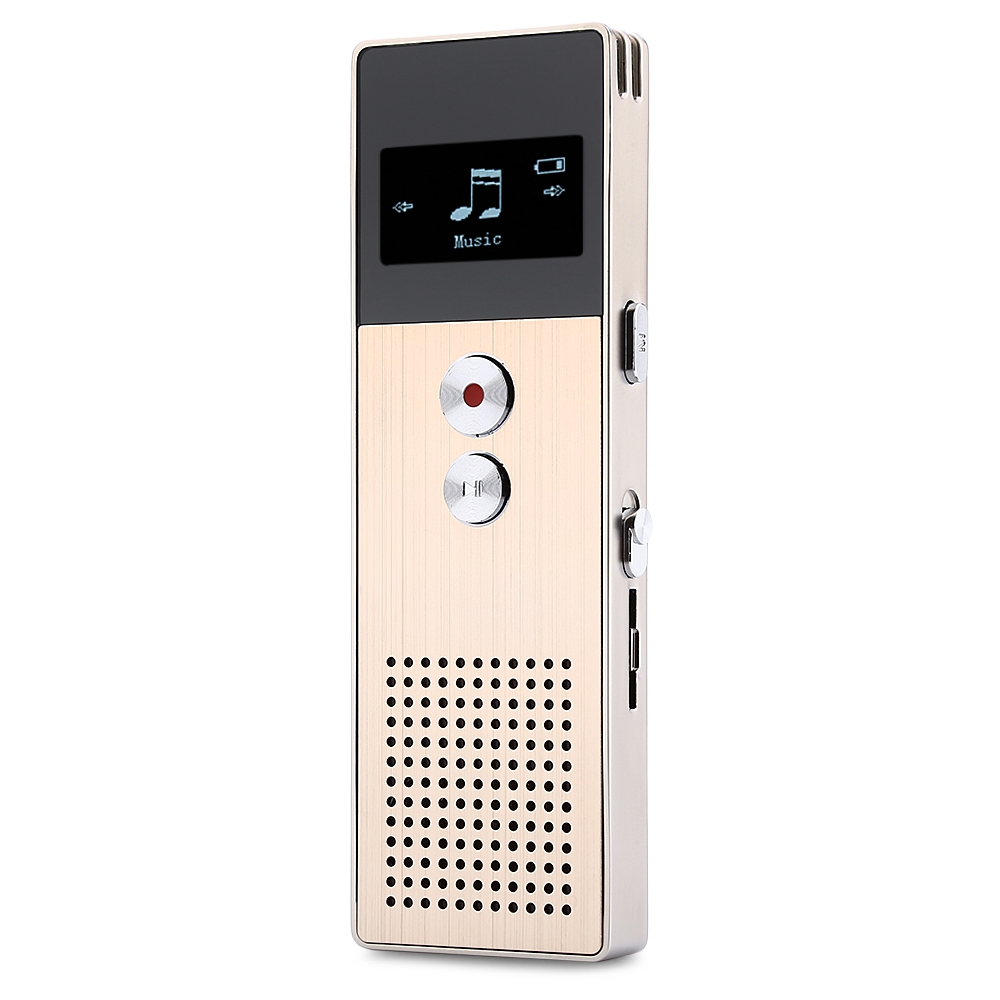 2017 Newest MP3 Player Original BENJIE C6 HiFi MP3 Player 8GB FM Radio MP3 Music Player External Speaker Voice Recorder