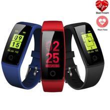 V10 Banda Assista Heart Rate Monitor de Pressão Arterial Inteligente Pulseira Inteligente Rastreador De Fitness Pedômetro Inteligente Pulseira de fitness feminino