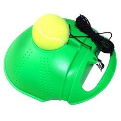 2018 de alta qualidade Ferramenta de Exercício Bola de Tênis De Treinamento De Tênis Autodidactismo Rebote Bola de Tênis Instrutor dropshipping livre epacket