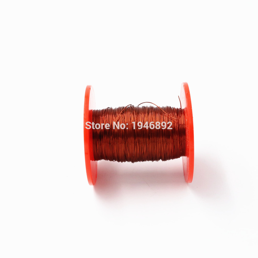 0.41mm 100g/pcs QA/2 130 Copper Wire Red Enameled copper wire ...