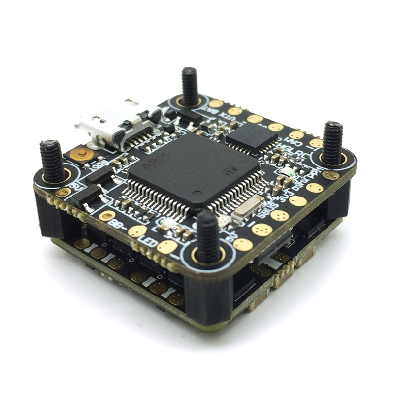 HGLRC XJB F413 for Omnibus F4 Flight Controller & 13A Blheli_S 2-3S 4 In 1 Brushless ESC For RC Drone Spare Parts Accessories negima omnibus 1
