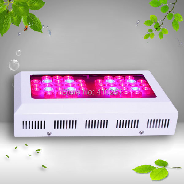 3W LED Grow Light 126W With 42pcs 3w leds  for medical plants,dropshipping original cree cxa2530 cxa3070 50w 65w 100w cree led grow chip light 3000k 5000k for led high bay flood grow light medical plants