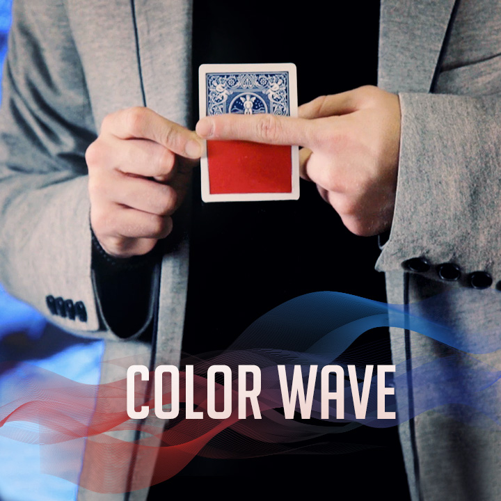 Color Wave Harapan Santoso Ong SansMinds Creative Lab With DVD And Gimmick / Close-up Street Card Magic Tricks Wholesale