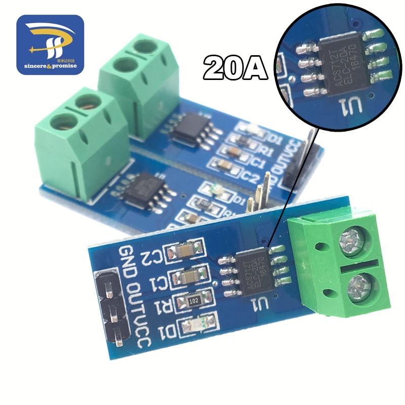 20A range Current Sensor Module ACS712 Modul new version ACS712