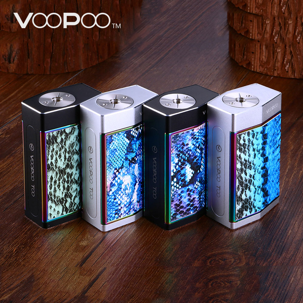 180W VOOPOO TOO TC Box MOD SOFT Mode for High Wattage & GENE Chip & 10ms Firing Speed 180W VOOPOO TOO Mod No Battery Original