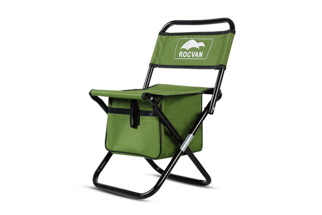 Folding Fishing Chair Backrest Camouflage Portable Fishing Equipment Fishing Bag and Chair