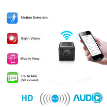 hot deal buy wifi ip mini camera wireless 1080p hd infrared micro ir night vision body camera magnetic motion detection mini surveillance cam
