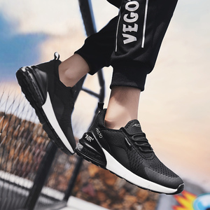 Image 3 - Cork Casual Shoes Men Sneakers Breathable Men Trainer Sneakers Air Cushion Sport Shoes Zapatillas Hombre Deportiva 270 Air Cushi