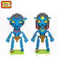 Jake Sully Na'vi Neytiri Avatar Pandora Loz Diamante Building Blocks Action Figure Modelo de Brinquedo DIY Crianças Educacional Figura