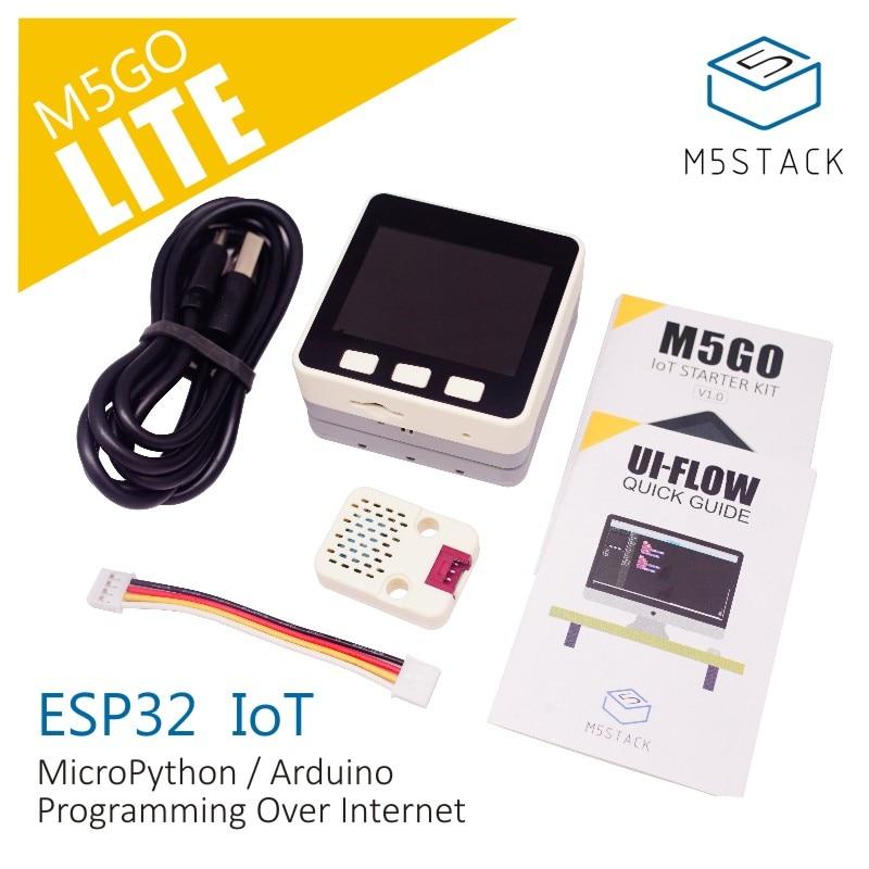 M5Stack NEW Lite IoT Development Board Kit ESP32 MPU9250 Grove 16MFlash DHT12 Temperature Humidity Sensor Module For Arduino