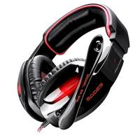 SADES SA-902 7.1 Surround Sound stereo Gaming headset headband auscultadores over-ear com Microfone e controle de volume para PC Gamer