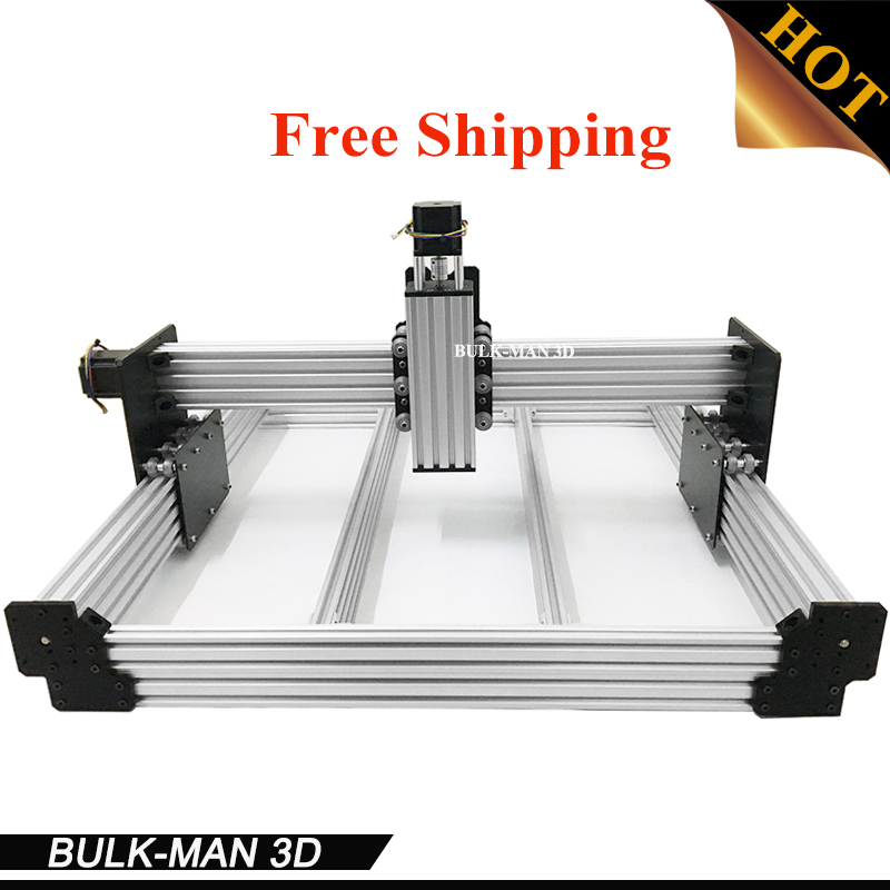 Livraison Gratuite WorkBee CNC Mécanique Kit BOEUF CNC Kit Mise À Niveau Version DIY CNC Sculpture Machine outil, CNC Fraiseuse