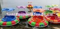 Hot sale water park equipment water ride bumper boat