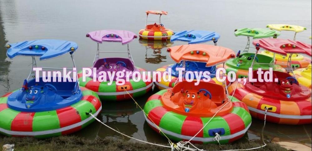 Hot sale water park equipment water ride bumper boat
