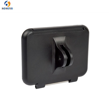 Rama tylna pokrywa osłona do Gopro osłona na obramowanie osłona tylna do GoPro HERO 5 6 akcesoria do kamer sportowych tanie i dobre opinie SOSOYO GP0199 Przypadku Pakiet 1